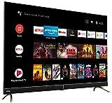 Vu 139 cm (55 inches) 4K Ultra HD Cinema Android Smart LED TV 55CA (Black) | With 40W Front Soundbar