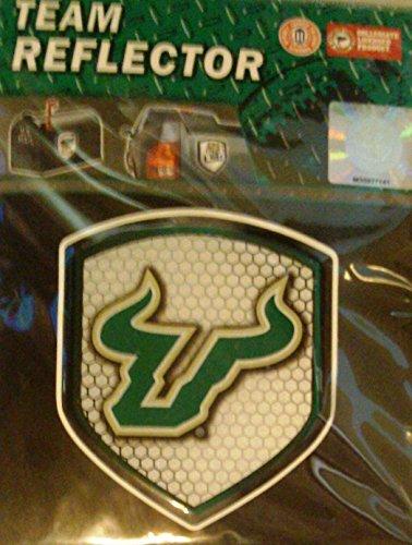 Team ProMark USF Bulls South Florida Shield Reflektor Emblem Aufkleber Auto Home Universität Usf Bulls