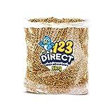 123Direct 5Kg - Premium vers de Farine Déshydratés pour Oiseaux, friandises à Forte teneur en protéine