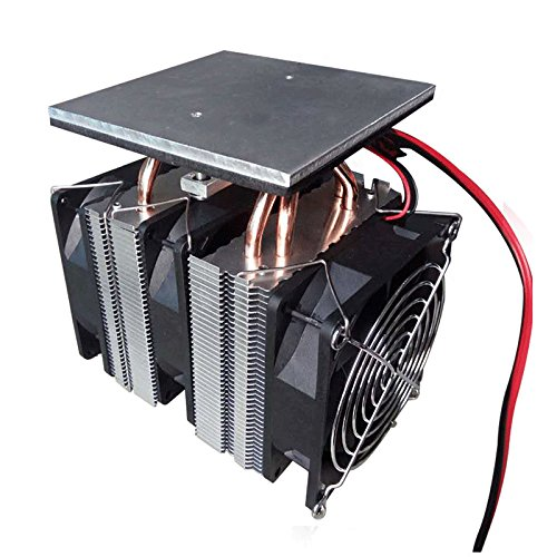 Kostüm Kühlschrank - LaDicha Xd-6028 12V 10A Semiconductor Cooling Equipment Small Kühlschrank High Power Radiator System Small Electronic Cooler No Power Supply