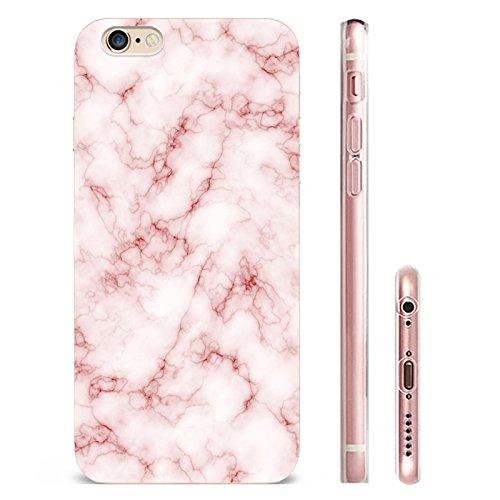 IPHONE 6splus Hülle Marmor Mandala TPU Silikon Schutzhülle Handyhülle Case - Klar Transparent Durchsichtig Clear Case für iPhone 6/6splus Schutz Hülle dls7