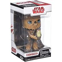 Star Wars - Figuara de vinilo: Wobbler - Chewbacca con Porg
