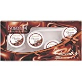 Aryanveda Unisex Chocolate Facial Kit for all skin type (210 gm)