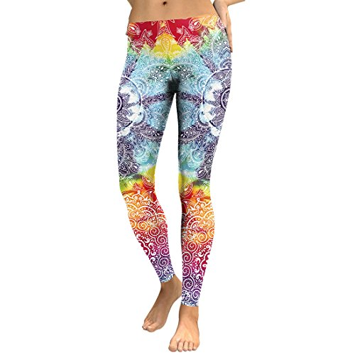 Women's Stylish Printed Leggings Ultra Soft Fashion Graphic Casual Tights