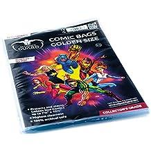 Comic Sacs (Doré Taille, Lot de 100)