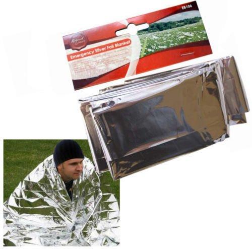 51U9LrgzFIL - Emergency Silver Foil / Survival Blanket. Ideal For Cars, Caravans