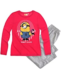 Minions Despicable Me Chicas Pijama - Gris