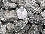 Diabas - Piedras para sauna (5 kg, 50-80 mm, incluye taza para sauna y sauna)