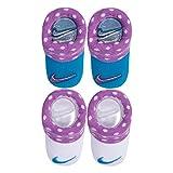 Nike Baby Swoosh 2Pack Baby Beute für Jungen und Mädchen (0-6m) Gr. Gr. 50-68, Rush Fuchsia (An0046-p3r) / White
