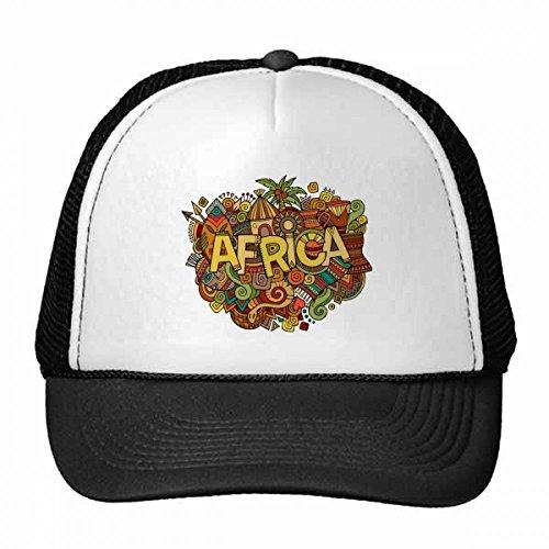 DIYthinker Afrikanisches Aboriginal-Kunst-Muster Tribal Trucker-Mütze Baseballmütze...