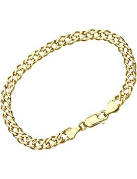 Citerna Damen-Gliederarmband 375 Gelbgold 7.5 19 cm