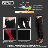 DRSKIN-DRSR-Compression-Base-Layer-Long-Sleeve-Under-Shirt-Pants-schwarz-L