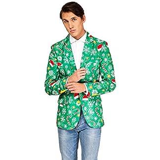 OFFSTREAM Suitmeister Trajes de Navidad – Incluyen Chaqueta y Corbata