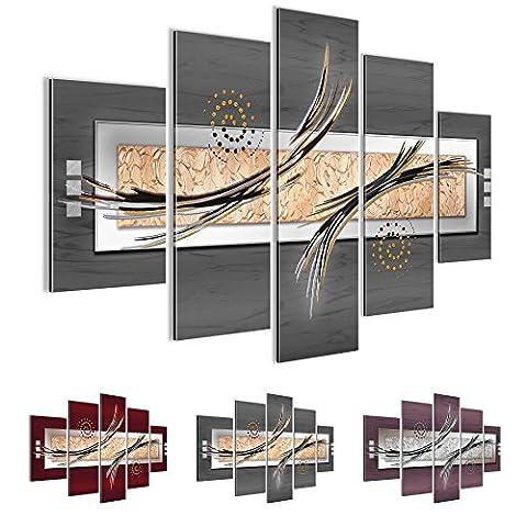 Bilder 150 x 100 cm - Abstrakt Bild - Vlies Leinwand - Kunstdrucke -Wandbild - XXL Format - mehrere Farben und Größen im Shop - Fertig Aufgespannt !!! 100% MADE IN GERMANY !!! -