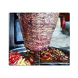 Piastre di copertura della stufa con nodo Set di 2 tagliere Döner Kebab