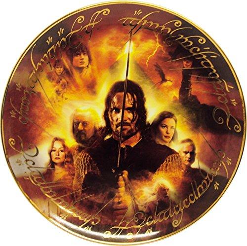 Der Herr der Ringe THE RETURN OF THE KING Teller Danbury (mint Sammler Teller 30,5cm 30cm limitierte Edition - 2