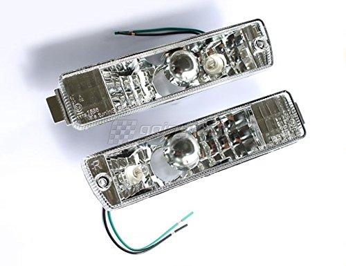 Klarglas Front- Blinker Chrom Set Links+Rechts mit E-Prüfzeichen