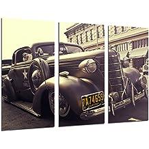 Cuadro Moderno Fotografico Coche Antiguo Bentley, Coche Vintage, 97 x 62 cm, ref. 26477