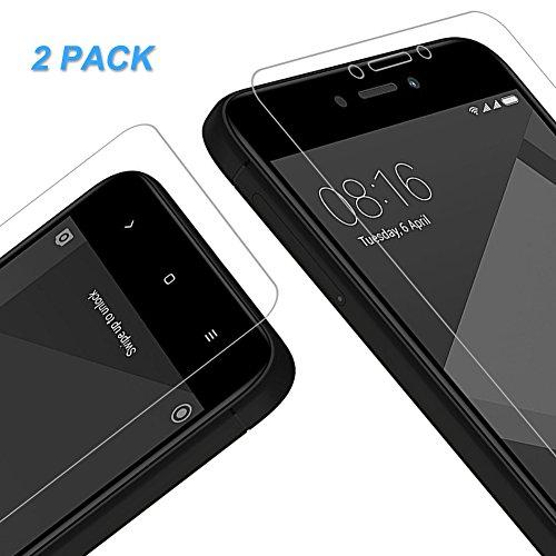 Vkaiy Xiaomi Redmi 4X Panzerglas Schutzfolie, [2 Stück] Ultra-Klar Glas 9H Härte 3D Touch Kompatibel Anti-Kratzen, Anti-Öl, Anti-Bläschen für Xiaomi Redmi 4X