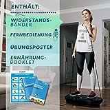 Bluefin Fitness 3D Dual-Motor Vibrationsplatte | Oszillation und Vibration | Ultimatives Fitnessgerät für Fettabbau und Gewichtsreduzierung - 5