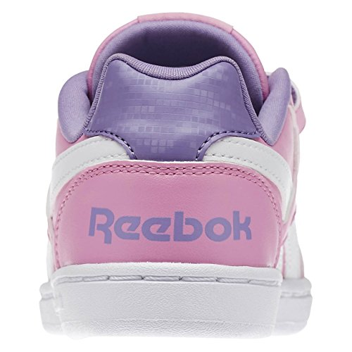 Roxo Nobre Sneaker Reebok Real Violeta Rosa icono Rosa Branco de rosa 27 Eu Bebê Novo Velho Escuro Branco Smoky BqffwP4