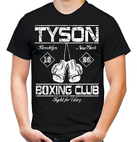 Tyson Boxing Club T-Shirt | Männer | Herren | Vollkontakt | Boxen | Boxing | Boxer | MMA | Fight | Gym | Sport | Film | Kult (M) Joe Boxer Boxer Boys