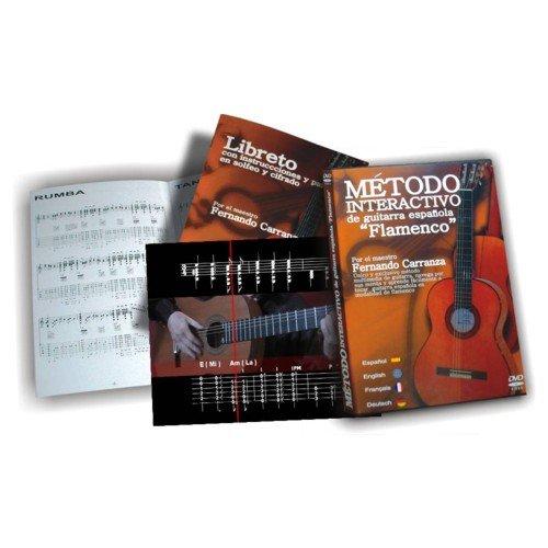 DVD libreto Musical Atalaya interactive método guitarra