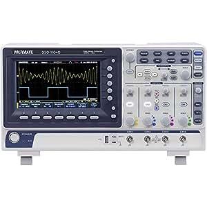 Oscilloscope à mémoire numérique VOLTCRAFT DSO-1104D Bande passante 100 MHz 4 voies