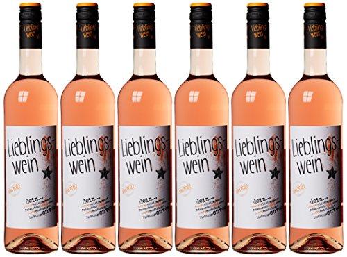 Lieblingswein Cuvee rose Halbtrocken (6 x 0.75 l)