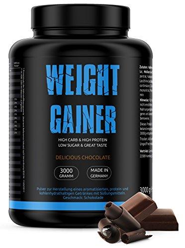 GYM-NUTRITION — WEIGHT-GAINER – ideal für Body-Builder & Hard-Gainer, die Gewicht aufbauen...