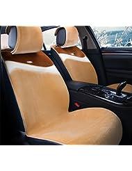 AMYMGLL Autozubehör Kissenbezug Standard Edition (7set) Deluxe Edition (11set) Auto-Universal Plüsch Unbonded Anti-Rutsch-Four Seasons 5 Farben