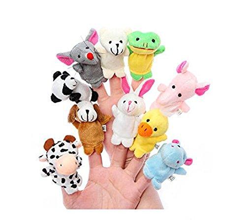 Doitsa Lustige Finger Puppets Finger Plüschtiere Hand Finger Puppets Spielzeug Verschiedene Stil Samt Puppen