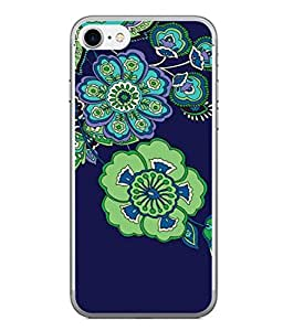 PrintVisa Designer Back Case Cover for Apple iPhone 6s Plus :: Apple iPhone 6s+ (Art Azure Bud Spiral Delicate Dirty Beautiful Design)