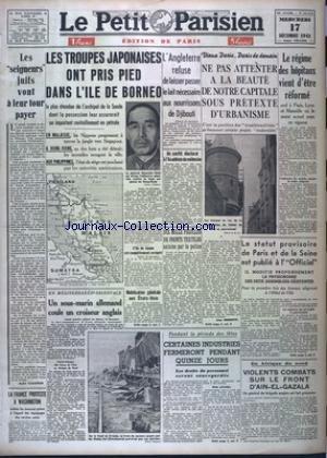 PETIT PARISIEN EDITION DE PARIS 5 HEURES (LE) [No ...