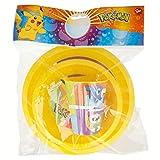 Pokèmon-ST-06810 Set Glass, Plate and Bowl Multicolour (Stor ST-06810