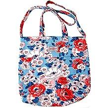 Cath Kidston - Bolso de tela de algodón para mujer Azul ...
