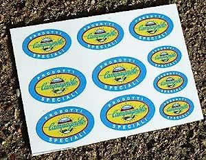 Campagnolo Style Speciali Klein Fahrrad Rahmen Aufkleber Sticker Auto