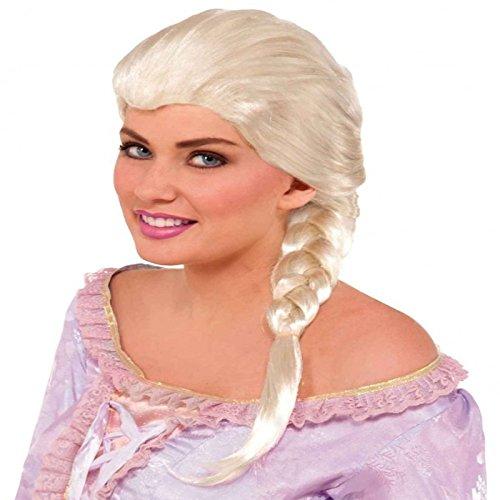 Peluca Elsa Frozen Basic New Niña/Adulto