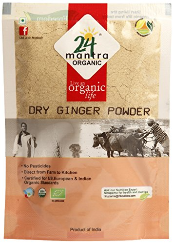 24 Mantra Organic Dry Ginger Powder, 50g  available at amazon for Rs.50