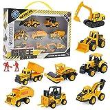 Mini Legierungstechnik Autos Spielzeug Set, Jungen Mädchen Imitation Inertial Pädagogische Requisiten