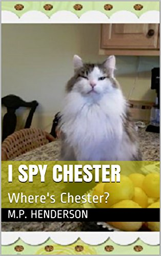 I SPY CHESTER: Where's Chester? (English Edition)