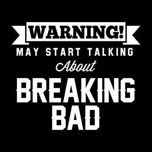 Warning May Start Talking About Breaking Bad Women's Vest Black