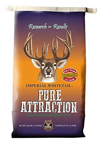 Whitetail Institute Imperial, Pure Attraction, 26# .5 Acre by Whitetail Institute -