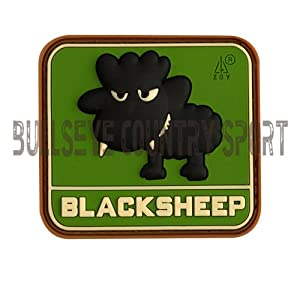Pvc Little Black Sheep Patch Multicam Moral Patch Airsoft