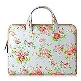 Onite Laptophülle Tasche Schutzhülle Hülle Schultertasche Laptoptasche sleeve case für Laptop Tablet Notebook (Blumen, 11.6-12)
