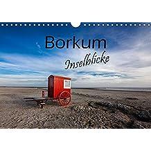 Borkum - Inselblicke (Wandkalender 2018 DIN A4 quer): Borkum Strandidylle. Zwölf beeindruckende Facetten einer traumhaften Insel. (Monatskalender, 14 Seiten ) (CALVENDO Natur)
