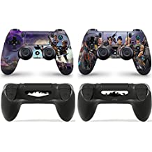 Gizmoz n Gadgetz 2 x FORTNITE PlayStation 4 PS4 Controller Skins Full Wrap Vinyl Sticker