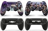 Gizmoz n Gadgetz 2 x FORTNITE PlayStation 4 PS4 Controller Skins Full Wrap Vinyl Sticker