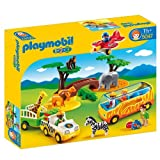 Playmobil 5047 1.2.3 Safari Set   Multi Coloured