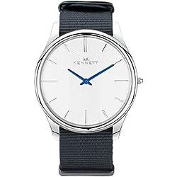 White/Grey Kensington Watch by Kennett